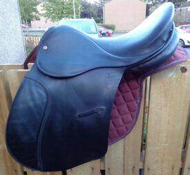 """Jeffries Falcon Event Saddle 17"""""""