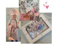 Girls 8 piece baking Christmas gift set 🧁