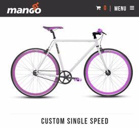 Brand new mango road bike