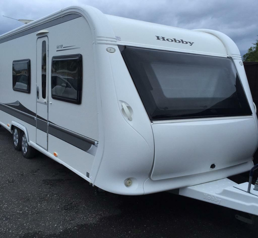 2011 hobby 645 vip touring caravan in brentwood essex gumtree. Black Bedroom Furniture Sets. Home Design Ideas