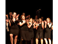 Singers wanted for 120 strong (fun and funky) pop, soul & gospel choir