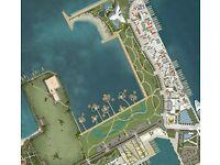 Rendered Masterplan for urban design / 3d visuals