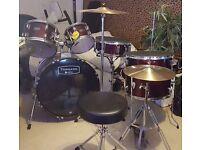 Tornado by Mapex complete drum kit