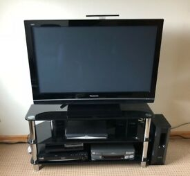 Panasonic tv with stand