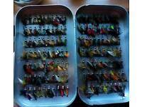 Richard Wheatley fly box + flys