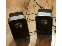 For sale is a set of the Logitech speakers.