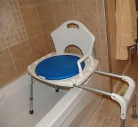 sliding transfer bath bench