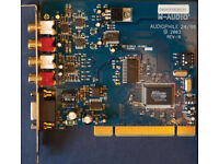 M-Audio Audiophile Delta 24/96 PCI Professional Soundcard - Guaranteed - Excellent Condition