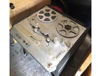 Studer vintage reel to reel recording deck