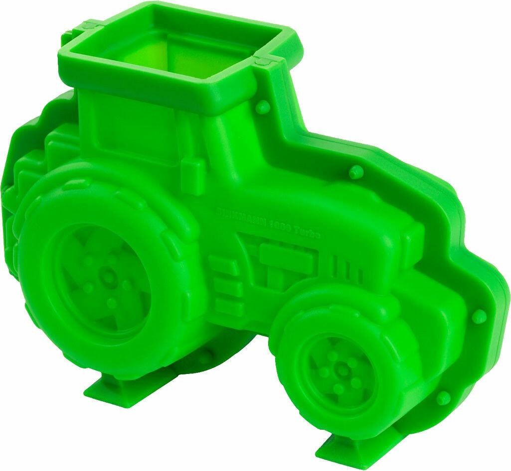 Backform Motivbackform Kuchenform in 3D - Kalle der Traktor - Antihaft Silikon
