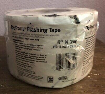 1 Roll 4 X 75 Ft Dupont Flashing Tape Door Window Butyl Insulation Seal