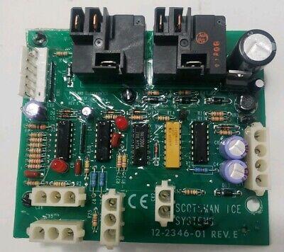 Scotsman Ice Machine Genuine Oem Part 12-2346-01 Control Circuit Boardused