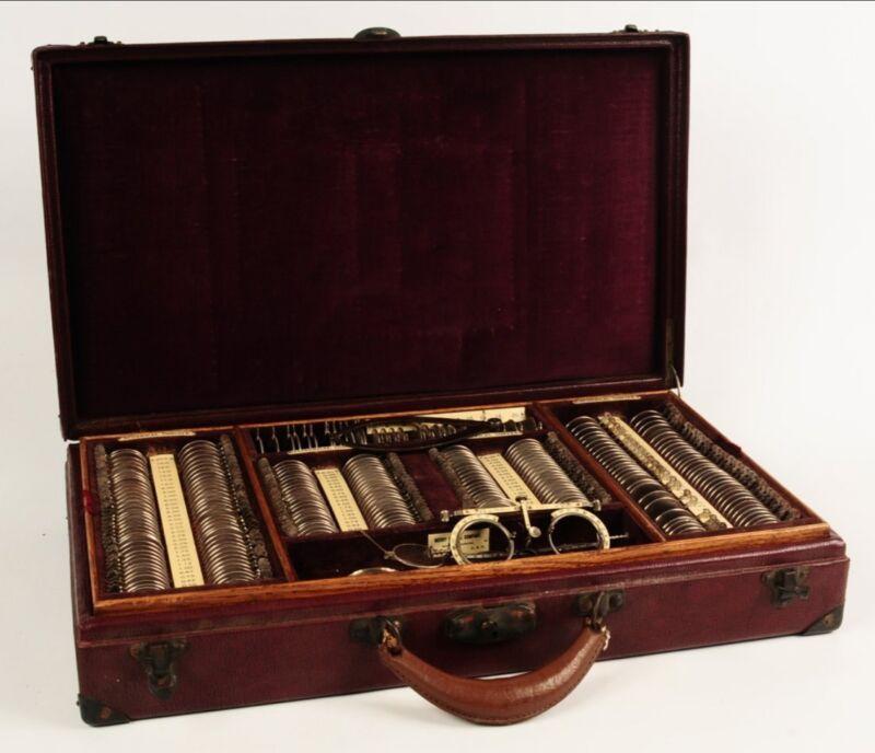 Antique Merry Optical of Kansas City Testing Kit -  Circa Early 1900s