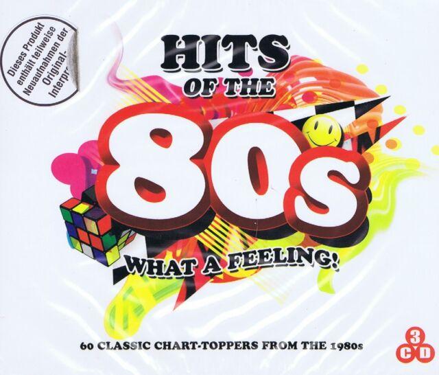 CD-BOX NEU/OVP - Hits Of The 80's - What A Feeling - 3 CDs