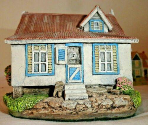LLANOS & MAINGOT BUILDING - AUTHENTIC CARIBBEAN SCULPTURE - PAUL LlANOS 1997
