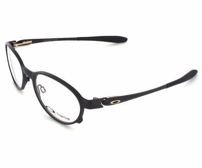0f31fac25b2 New Oakley OX5067-0251 Overlord Titanium Prescription Frame Black 51mm