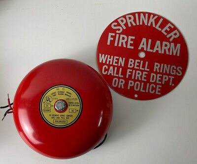 Brecco 6 Fire Alarm Bell Red Hc-1120