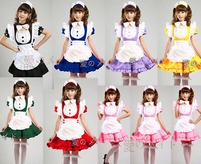 Cosplay Kostüm Lolita Inu Boku Secret Service SS Manga Uniform Japan Rock - Service Kostüm