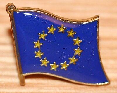 EU EUROPEAN UNION Europe Flag Metal Lapel Pin Badge