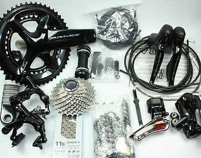 Customize! 2018 Shimano Dura-Ace R9150 Di2 R9150 Full Electronic Group Set Kit