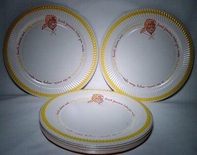LOT of 24~AUNT JEMIMA Vintage PAPER PLATES~1950s~New Old Stock~NOS~Never Used