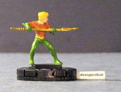 DC Heroclix 10 Figure Lot #37 Aquaman Mera Ocean Master Trench Girder Boomerang