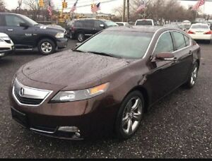 2012 Acura TL with Tech Package Navi AWD