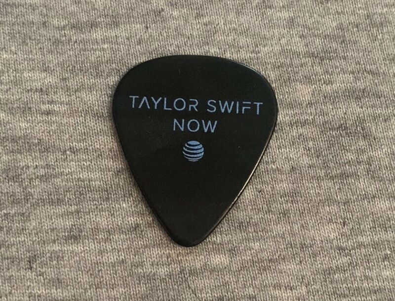 Taylor Swift RARE AT&T Now Guitar Pick