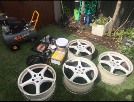 Wanted: Wheels and compressor bundle