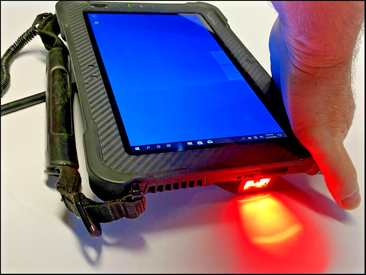 Laptop Windows - Zebra Xplore Rugged XSLATE B2, i5 2.9GHz Turbo, 8GB, Barcode, WIN10 4G/5G/GPS