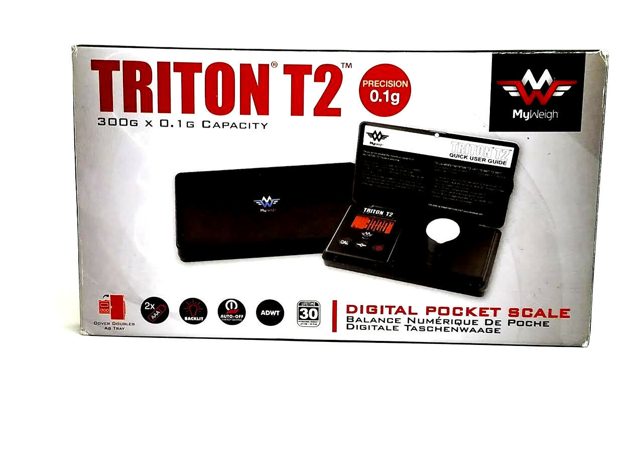 My Weigh Triton T2 Scale 300g Digital Pocket Scale - USA - Wholesale - New