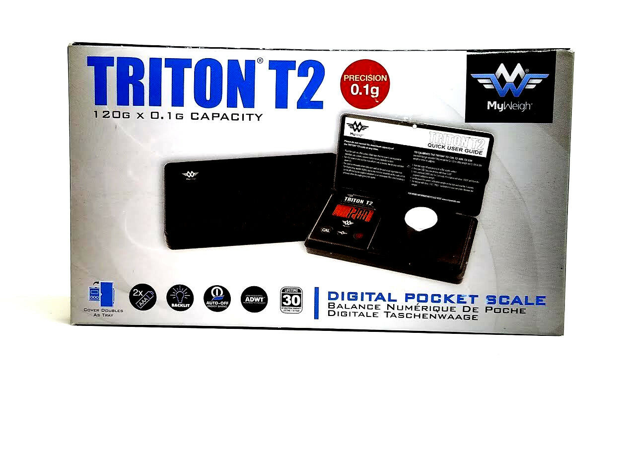My Weigh Triton T2 Scale 120g Digital Pocket Scale - USA - Wholesale - New