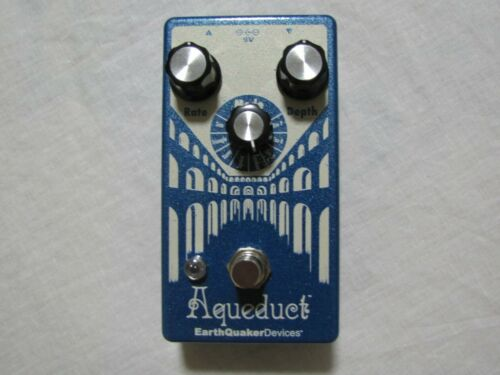 Used Earthquaker Devices Aqueduct Vibrato Guitar Effects Pedal