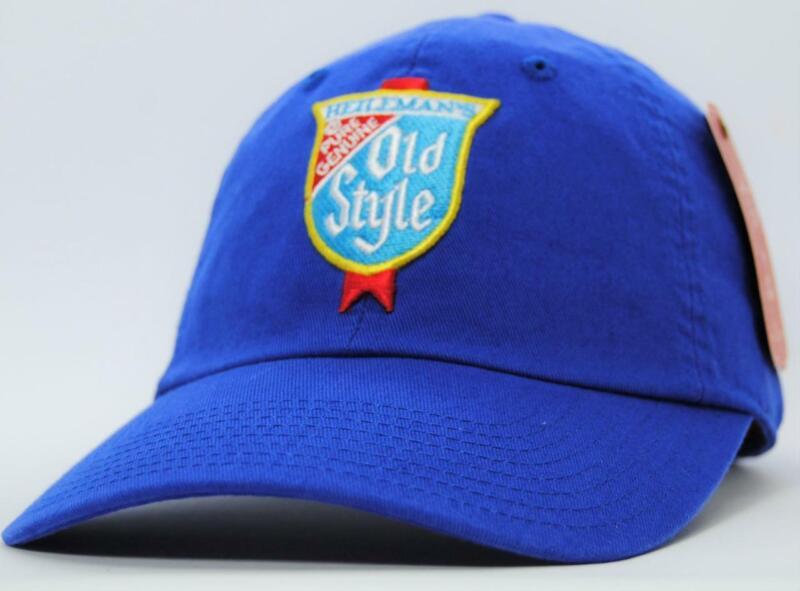 Old Style Beer Hat Blue American Needle Licensed New Baseball Cap (BP)