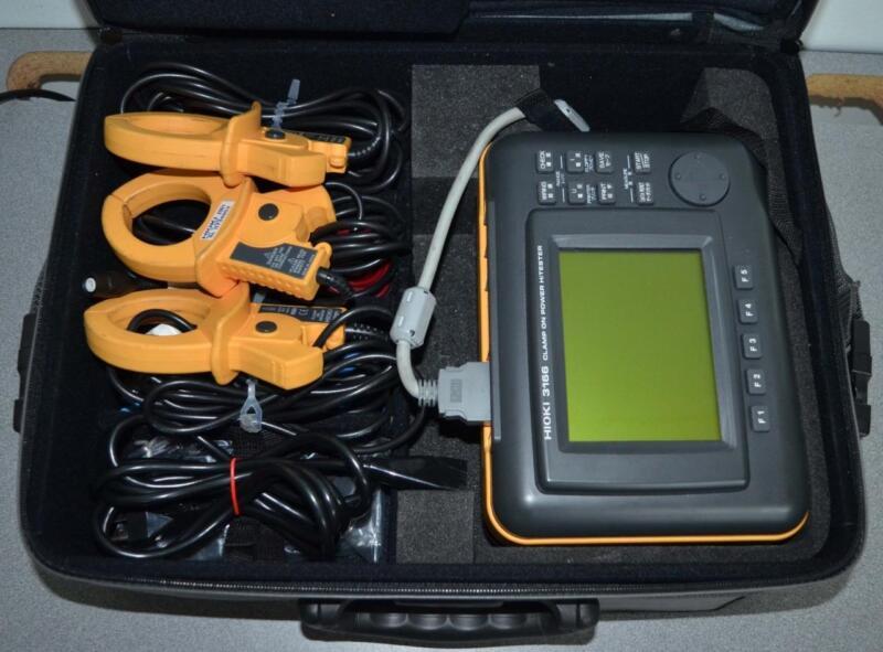 Hioki 3166 Clamp on Power HiTester Power Meter ++