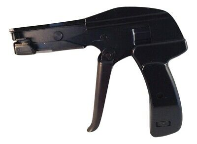 Heavy Duty Metal Cable Zip Tie Gun Durable Fastening Cutting Tool