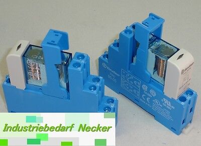 48.61.7.024.0050 - Finder Koppel Relais 24V DC 1 Wechsler 16A