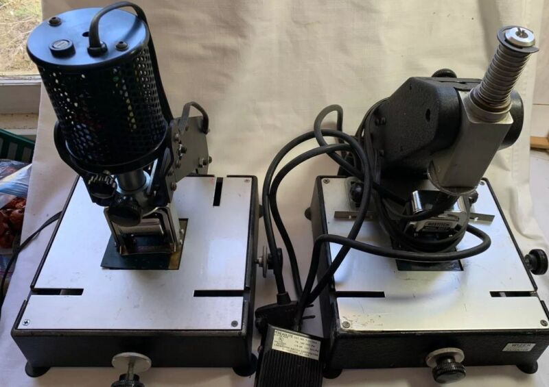 Lassco Wizer Number-Rite Model W-100 & Bostitch Model 607 Numbering Machines
