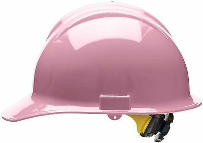 Bullard Cap Style Hard Hat With 6 Point Ratchet Suspension Pink