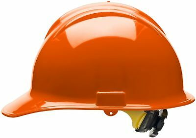 Bullard Cap Style Hard Hat With 6 Point Ratchet Suspension Orange