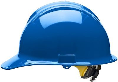 Bullard Cap Style Hard Hat with 6 Point Ratchet Suspension, Blue