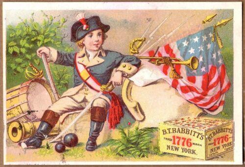 Victorian Trade Card-B T Babbitt