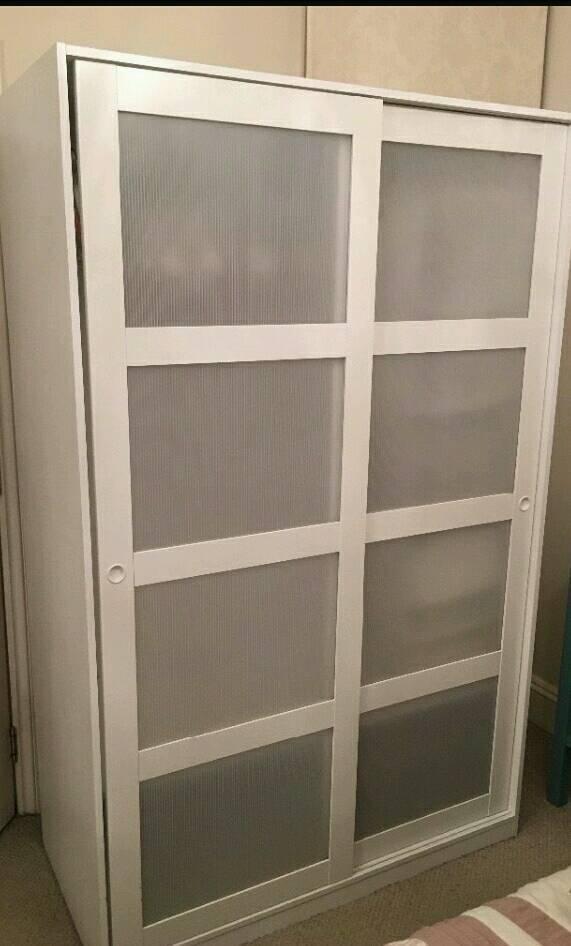 2x ikea kvikne wardrobes in coventry west midlands gumtree. Black Bedroom Furniture Sets. Home Design Ideas