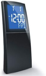LCD Digital Dual Alarm Clock Snooze FM Radio Soothing Natural Sounds