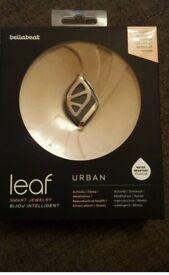 Bellabeat urban leaf fitness tracker black/rose gold