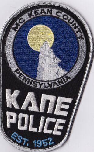 Kane Mc Kean County Police Patch Pennsylvania PA