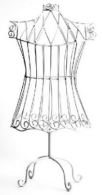 Child Size Wire Metal Dress Form Mannequin Clothing Jewelry Hanging Display Shop