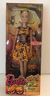 Halloween Magic Barbie Collector Doll CLW93 Target NRFB - Halloween Barbie Target