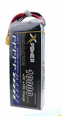 Lipo Battery 18.5V 10000MAH 25C 5S XT60 T EC5 RC Quadcopter