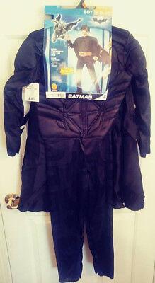 The Dark Night Costume (DC COMICS BATMAN THE DARK NIGHT MUSCLE CHEST CHILD COSTUME BOY MED (8-10))
